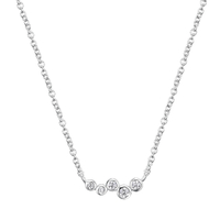 Collier Cloud Argent