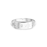 Bague Brooklyn Love Argent