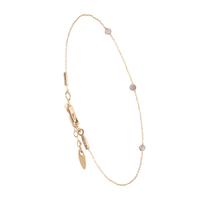 Bracelet Chaine 3 Perles Or Labradorite