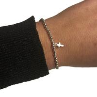 Bracelet ZAG Boule Croix Argent