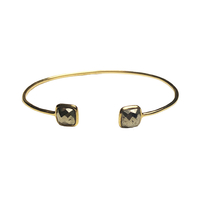 Bracelet Duo Toi & Moi Hématite Or