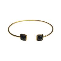 Bracelet Jonc Toi & Moi Onyx Or