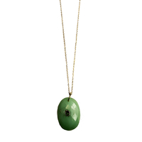 Collier Sautoir Amazonite Chaine Or