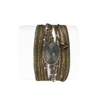 Bracelet Diva Labradorite Eté