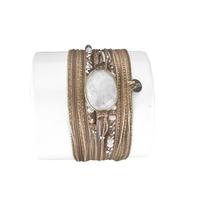 Bracelet Diva Pierre de Lune Blanche