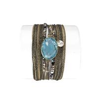 Bracelet Diva Quartz Bleu