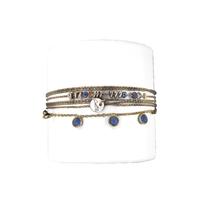 Bracelet Buzios Saphir
