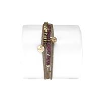 Bracelet Lisa Rouge Rubis