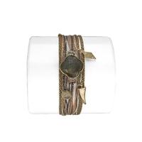 Bracelet Trèfle Labradorite