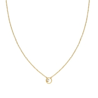 Collier Shadow Cristal Or