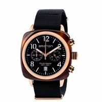 Montre ClubMaster Classic Acétate Chrono Rose Gold Black