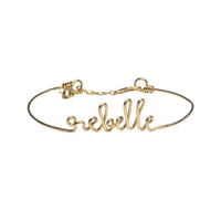 Bracelet Rebelle Gold Filled Or