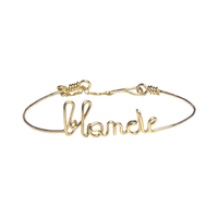 Bracelet Blonde Gold Filled Or