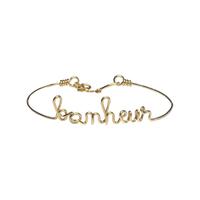 Bracelet Bonheur Gold Filled Or