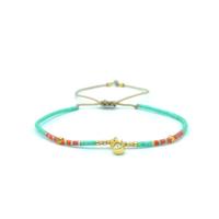 Bracelet Golden Caraibes Turquoise