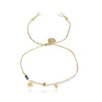 Bracelet Perles Rose Poudré