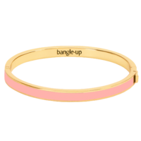Bracelet Bangle Rose Poudre Or
