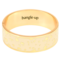Bracelet Lucy Blanc Sable Or