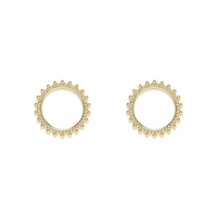 Boucles d'Oreilles Helena Or