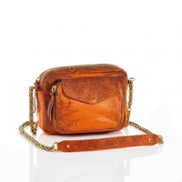 Sac Python Charly Orange Lezard