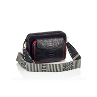 Sac Python Charly Noir Color Zip