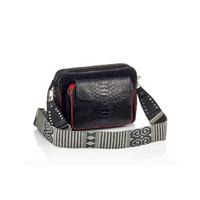 Sac Python Charly Noir Color Zip