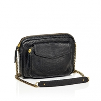 Sac Python Big Charly Noir Or