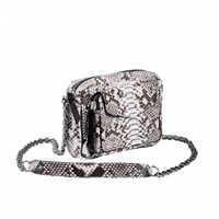 Sac Python Charly Diamond Argent