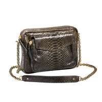 Sac Python Big Charly Dark Kaki
