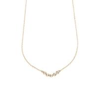 Collier Five Gems Diamonds Or