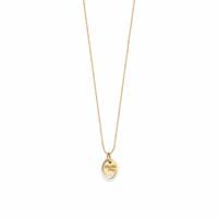 Collier Médaille Pastille Or S