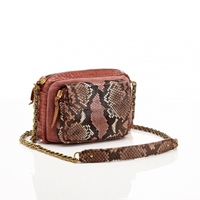 Sac Python Charly Rose Painted