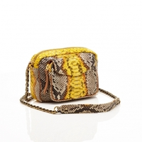 Sac Python Charly Jaune Painted
