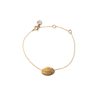 Bracelet Galet Médium Or