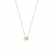 Collier Galet Mini Or