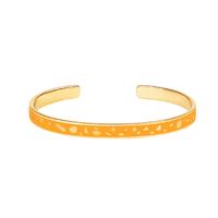 Bracelet Lucy Jaune Safran Or