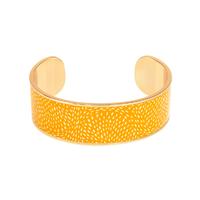 Bracelet Cosmos Jaune Safran Or
