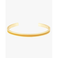 Bracelet Bangle Jaune Safran Or