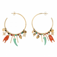 Boucles d'Oreilles Superstition Gold