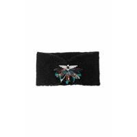 Headband / Bandeau Noir en Maille