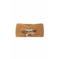 Headband / Bandeau Caramel en Maille