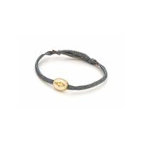 Bracelet Cordon Madone émaillé Ivoire