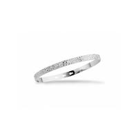Bracelet Jonc Martelé Silver / Argent