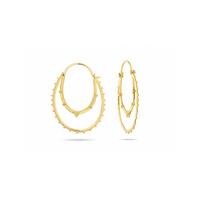 Boucles d'Oreilles Kolam Gold