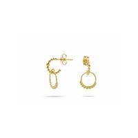 Boucles d'Oreilles Little India Gold