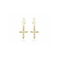 Boucles d'Oreilles Mini Créoles Sevilla Gold