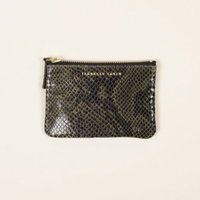 Porte Monnaie S Star Reptile Olive