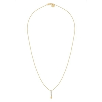 Collier Chaine Pendant Charlotte Cristal Or