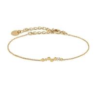 Bracelet Félicie Cristal Or