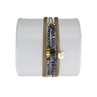 Bracelet Louisa Saphir Bleu